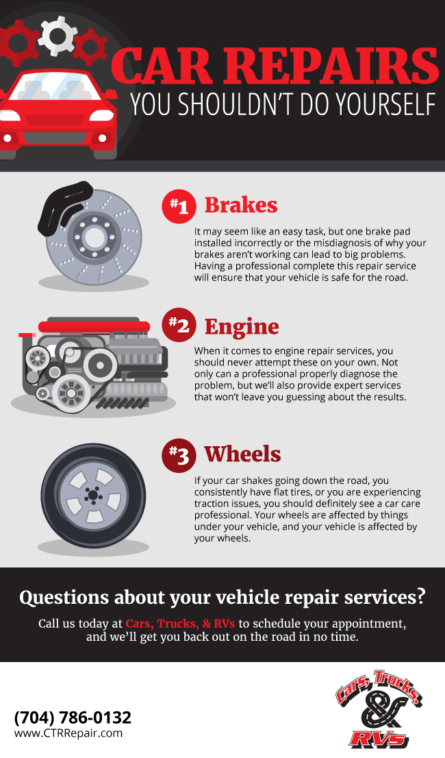 Repair Services Gone Wrong – Three Things You Should Avoid Doing Yourself